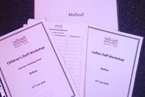National Daff Workshops – Children