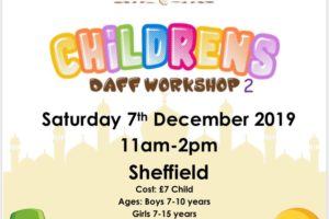 National Daff Workshops – Children